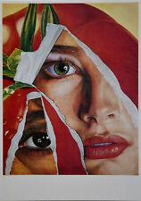 Fritz Köthe 80er Jahre Kunst-Postkarte, Pop Art, verschiedene Motive (6) - Neu