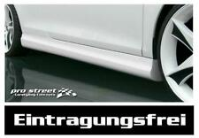 VW Golf 3 Seitenschweller Schweller GT Look Spoiler TÜV frei Side Skirts