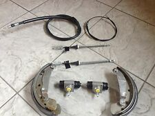 VAUXHALL CORSA C 1.0  00-06 ONE SET OF REAR BRAKE SHOES/2 CYLINDERS/BRAKE CABLES