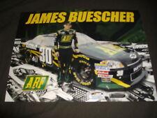 2011 JAMES BUESCHER #30 ABF U-PACK NASCAR POSTCARD