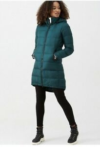 THE NORTH FACE Ladies Metropolis Parka III PONDEROSA Green  LARGE Rrp £315