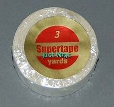 """SuperTape 3/4"""" x 3 Yard Roll Super Tape Non Glare Lace Wig Hair Extensions"""