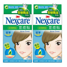 [3M NEXCARE] Ultra Thin Acne Dressing Pimple Patch Stickers TEA TREE OIL 56pcs