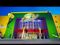 Crayola Experience Admission in Orlando Florida **Expires in June 2021**
