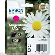Genuine Epson 18XL T1813 Daisy Ink Magenta XP212 XP215 XP305 XP315 XP322