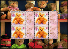 2003 Teddy Bears Minisheet Block of Four Type 5 Stamps Mint Australia