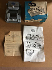 Rowi Slide Mounting Jig  Photographic Model 1 Made In Germany