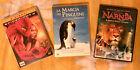 """4 DVD: """" NARNIA"""" + """"LA MARCIA DEI PINGUINI"""" + """"SPIDERMAN 2"""""""