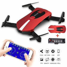Minni Pocket Selfie Drone 720P HD Camera 2.4G Wifi FPV RC Quadcopter Helicopter