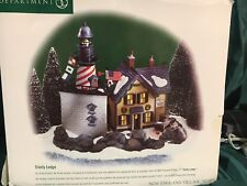 "Department 56 Heritage Village Nev #56.56611 ""Trinity Ledge Lighthouse"""
