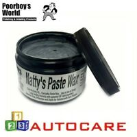 Poorboy's Natty's Paste Wax Black 258ml
