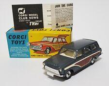 Corgi Toys No. 491, Ford Consul Cortina Super Estate Car, Superb Mint Condition.