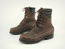 1990s IRISH SETTER Vintage Brown Leather Insulated GTX Hunting Sport Boots 10 H