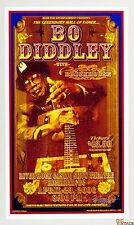 Bo Didley Poster River Rock Casino Theater Canada 2006 Apr 23 Bob Masse signed