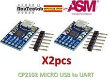 2pcs CJMCU CP2102 MICRO USB to UART TTL Module 6Pin Serial Converter for Arduino