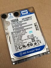 Western Digital Laptop Hard Drive HDD WD1600BEVT-22ZCT0 160GB Disk Drive SATA