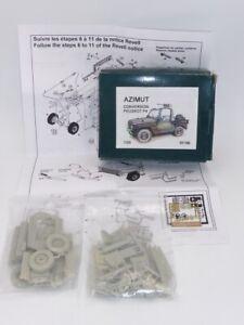 Azimut Conversion Peugeot P4 Resin Kit 1:35 Scale Item Number 35199
