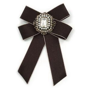 Vintage Inspired/ Retro Men And Women Universal Black Silk Ribbon Pre-Tied Bow