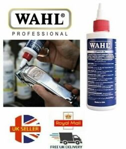 WAHL CLIPPER OIL 4 OZ / 118.3 ML FOR ELECTRIC HAIR TRIMMER / CLIPPERS & SHAVER