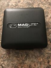 MAGLITE Solitaire, LED 1-Cell AAA Flashlight, Keychain Size, Black #SJ3A016