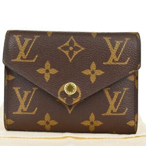 LOUIS VUITTON Portefeuille Victorine Trifold Wallet Monogram BN M62472 30MK431
