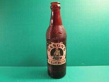 """Vintage Mason's """"Old Fashioned"""" Root Beer  Bottle  - No Bottle Cap"""