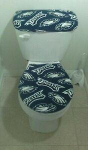 Philadelphia Eagles Fleece Toilet Seat and Tank Top Cover Set