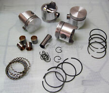 FIAT 600 D E R 750 770 piston/rings set 62+1.5 (63.5 mm) NEW RECENTLY MADE