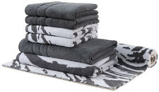 Egeria Marble und Prestige Set 4x Handtücher + 2x Duschtücher + 1x Badteppich