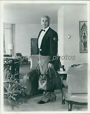 1964 TV Personality Allen Funt with Bags Original News Service Photo