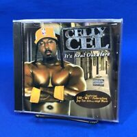 [SEALED] Celly Cel – It'z Real Out Here CD Album 2005 Explicit Gangsta Rap E40