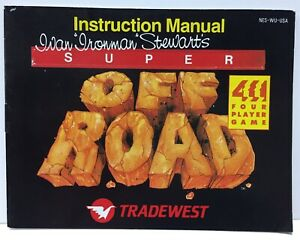 Super Off Road Instruction Booklet Manual Only for Nintendo NES NTSC Tradewest