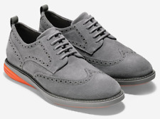 Cole Haan Men GrandEvolution Wingtip Oxford Ironstone Suede / Orange C26310