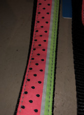 RC Pet Products watermelon print leashes and clip collars of all sizes