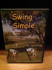 Swing Simple & Swing Simple Short Game (2 Dvds 2010) Scott Barrett