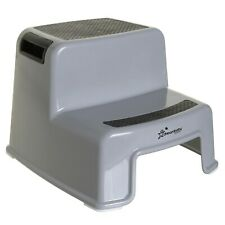 Dreambaby Two-Up Height Step Stool (Charcoal Grey)