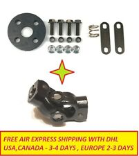 EUROPE SHIPPER  Suzuki Samurai Steering Universal Joint and rubber rag joint KIT