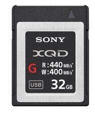 Sony 32GB G Series XQD Memory Card AUSTRALIAN STOCK