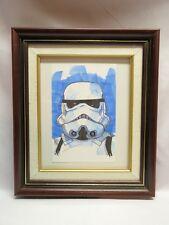 TOM HODGES, STAR WARS Snowtrooper Star Wars 1/1 ORIGINAL SIGNED Color Drawing