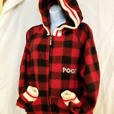 Pook One Piece Pajamas Pjs Trapped Door Plaid Large Ugly Sweater Multi Colored