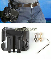 Camera Waist Belt Holster Quick Strap Buckle Hanger Safety for DSLR Digital SLR