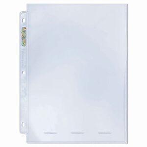 Ultra Pro Platinum One Pocket Page Photo Size 25 ct