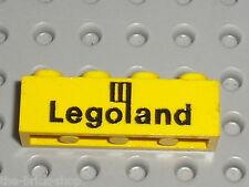 LEGO VINTAGE Yellow Brique LEGOLAND ref 3010p30 / set 355 681 450 646 652 647...