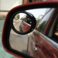 Small Round Mirror Car Rearview Mirror 360 degree Blind Spot Wide-angle Lens