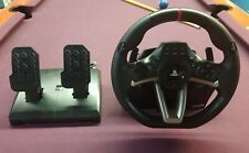 PLAYSTATION 4 HORI RWA RACING STEERING WHEEL + PEDALS Apex PS3 PS4 PC Controller