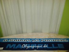 "Olympique Marseille Fan Schal ""A JAMAIS LES PRENIERS"" Neu"