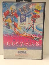 Master System - Winter Olympics Lillehammer ´94 (mit OVP) 10632994