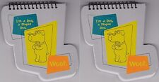 2-SET FAMILY GUY BRIAN MEMO PADS Spiral Notebook School Supply Paper TV Show NEW