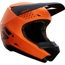 Shift MX (made by Fox) 2018 White Label Helmet, Orange, Size Medium, NIB!