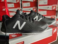 New Balance Mens T4040SK4 Men's Black/White Baseball Turf Shoes New in Box